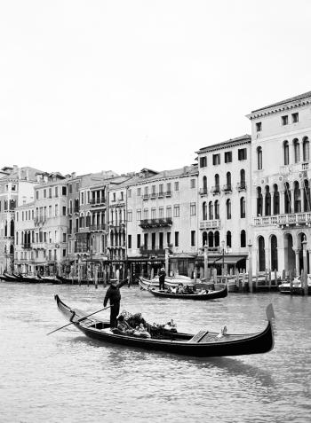 Venice italy by gondola