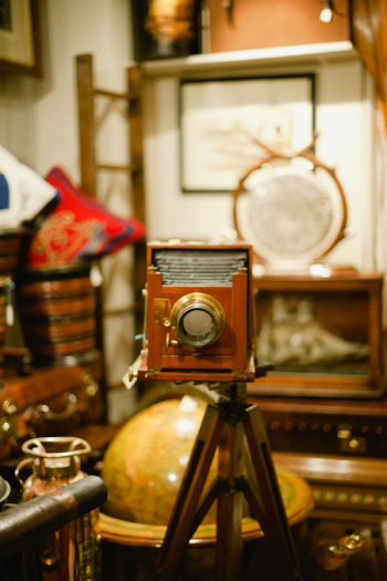 Antique Camera in London England