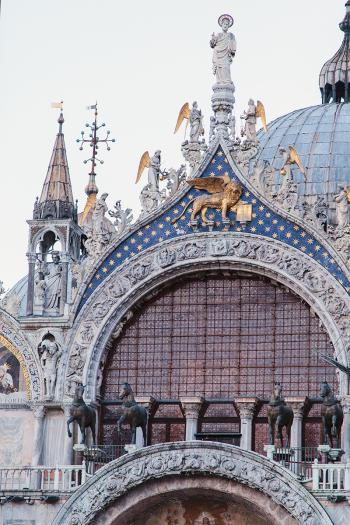 Basilica San Marco in Venice Italy