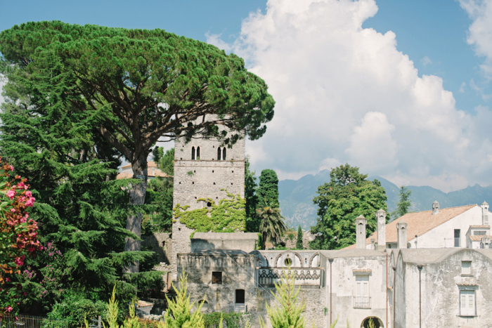 Blue Skies Over Ravello Italy