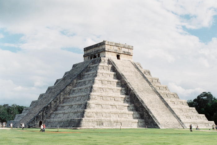 Blue Skies at Chichen Itza