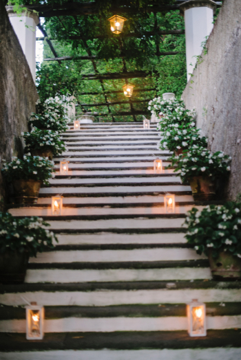 Candlelit Steps in Ravello Italy
