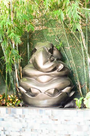 Elephant Statue in Miami Beach