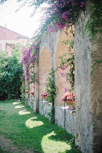 Gardens at Villa Cimbrone in Ravello Italy