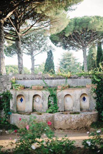 Gardens at the Villa Cimbrone of Ravello Italy