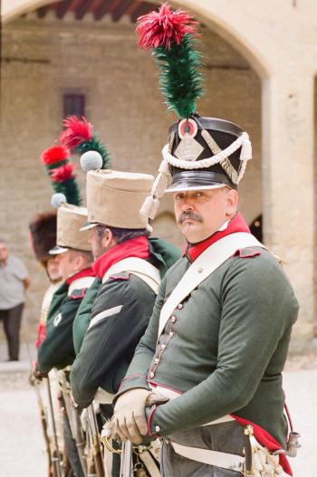 Guards in Salon de Provence France