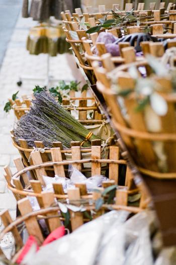 Market Goods in Saint Remy de Provence France