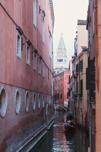 Narrow Alleys of Venice Italy