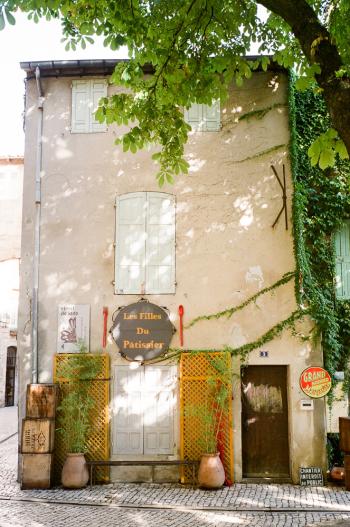 Patissier in Saint Remy de Provence France