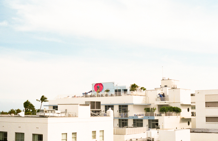 Rooftops in Miami Beach