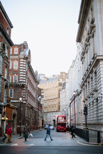 Walking the Streets of London England