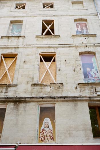 Window Paintings in Avignon France