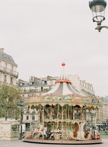 Carousel in Paris France