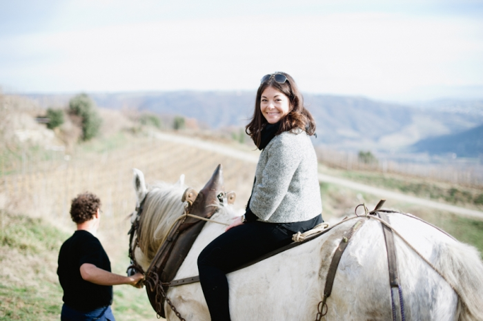 Horse Rides at Domaine de Gouye in Rhone Valley France