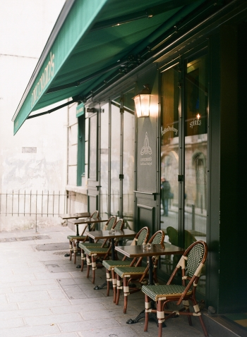 Outdoor Seating in Paris France