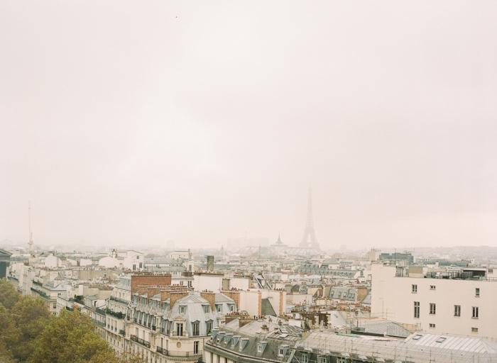 Overlooking Paris France