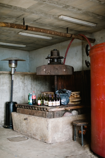 Tasting at Domaine de Gouye in Rhone Valley France