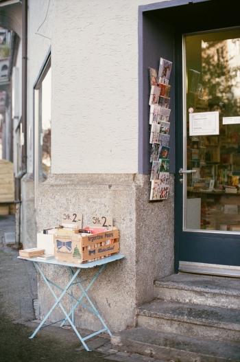 Bookstore in Zurich Switzerland