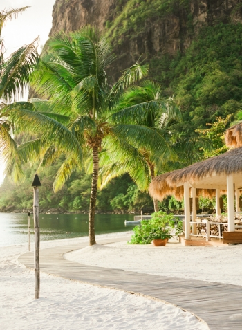 Sugar Beach Hotel in St Lucia
