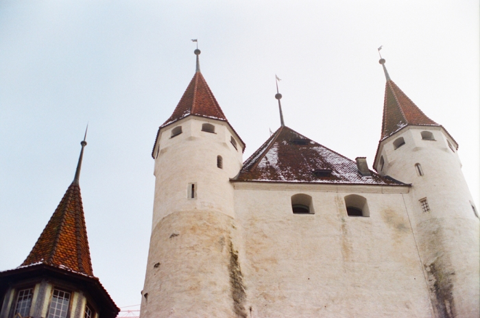 Thun Castle in Switzerland