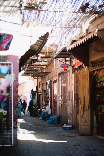 Exploring the Souks in Marrakech