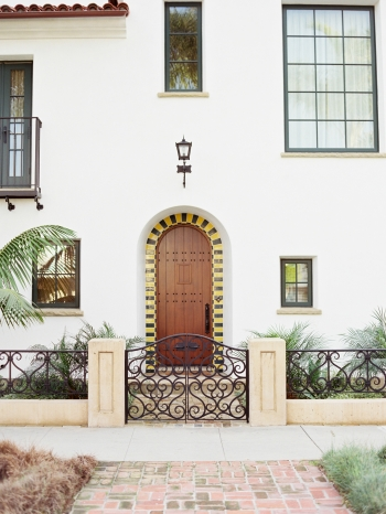 Front Door in Santa Barbara