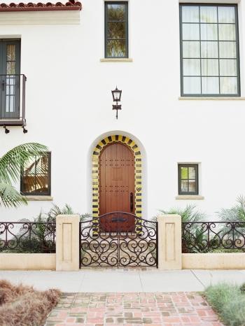 Front Door in Santa Barbara