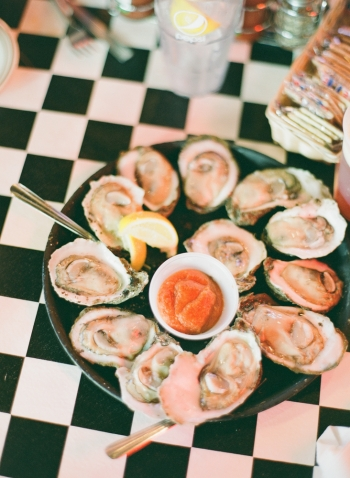Oysters at Acme Oyster House in New Orleans