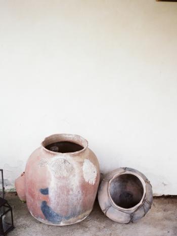Pottery at San Ysidro Ranch in Santa Barbara