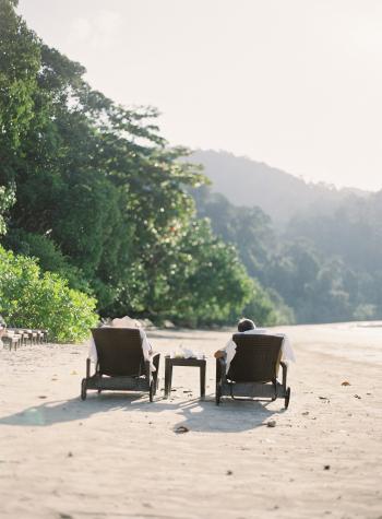 Beachside Chairs at the Datai Langkawi
