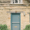 Blue Cottage Door in the Cotswolds