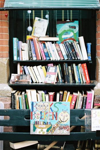 Books in Amsterdam