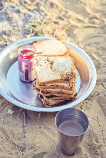 Breakfast in Thar India