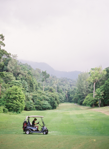 Golf Cart at the Datai Langkawi
