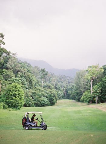 Golf Cart at the Datai Langkawi