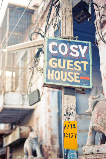 Hostel Sign in Jodhpur India