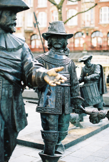 Statues in Amsterdam