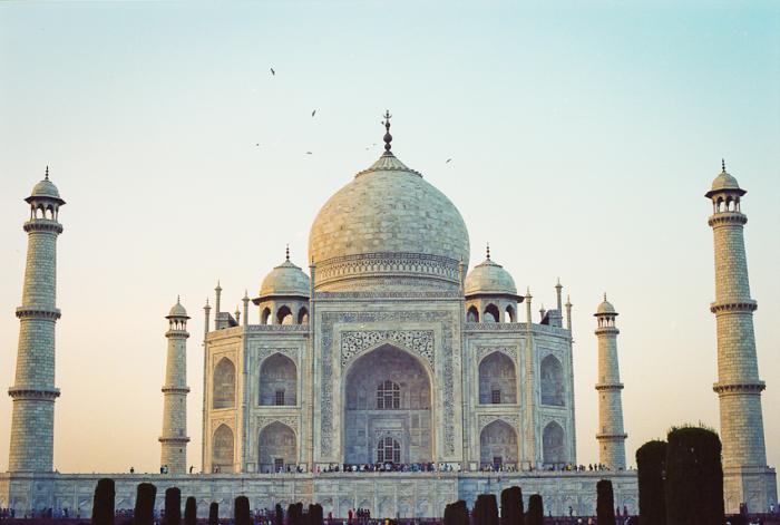 Taj Mahal in Agra India
