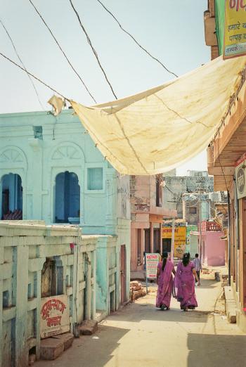Women Walking in Osian India