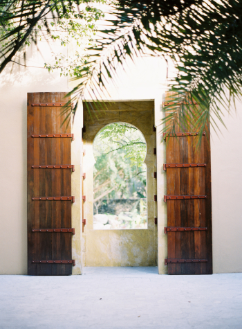 Wood Doors at the Four Seasons Langkawi