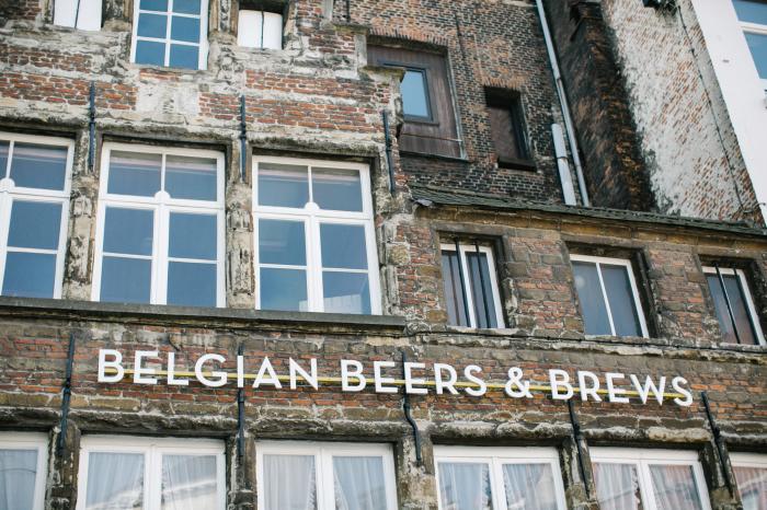 Belgian Beers in Antwerp Belgium