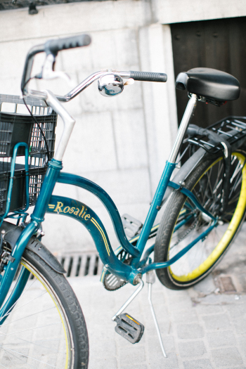 Bicycle in Antwerp Belgium