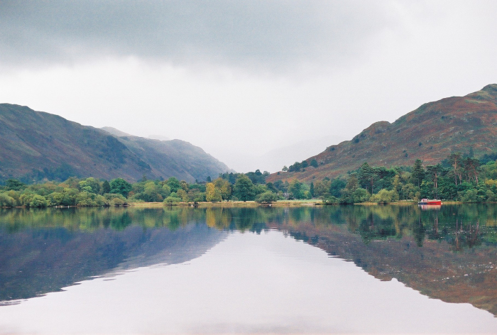 Breathtaking Landscape in the English Lake District