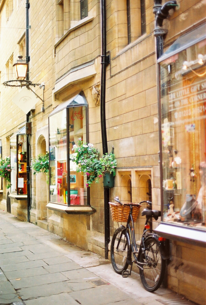 City Streets in Cambridge England