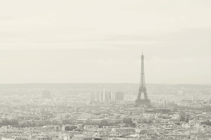 Cityscape from the Sacre Coeur in Paris