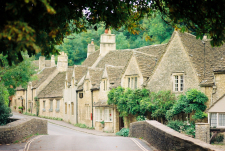 English Cotswolds Town of Castle Combe