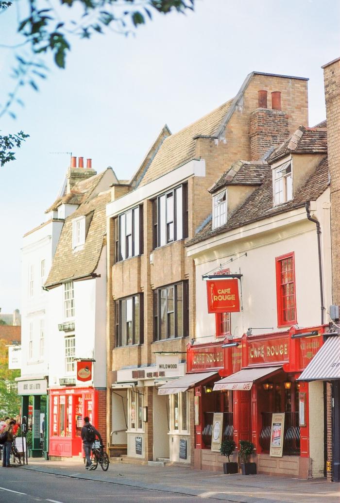 Exploring the City of Cambridge England