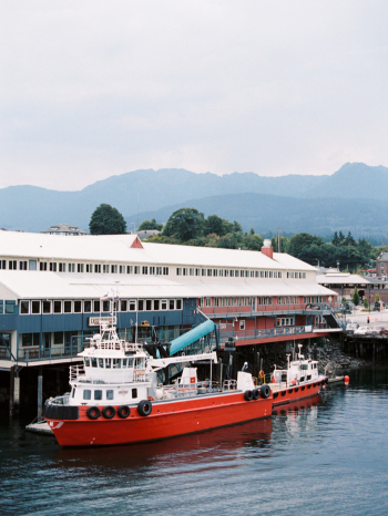 Ferry in Victoria British Columbia