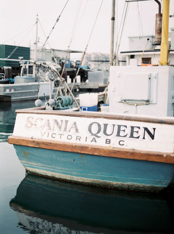 Fishing Boat in Victoria British Columbia