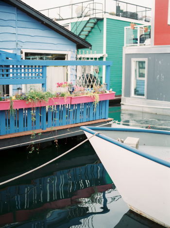 Floating Homes in Victoria British Columbia